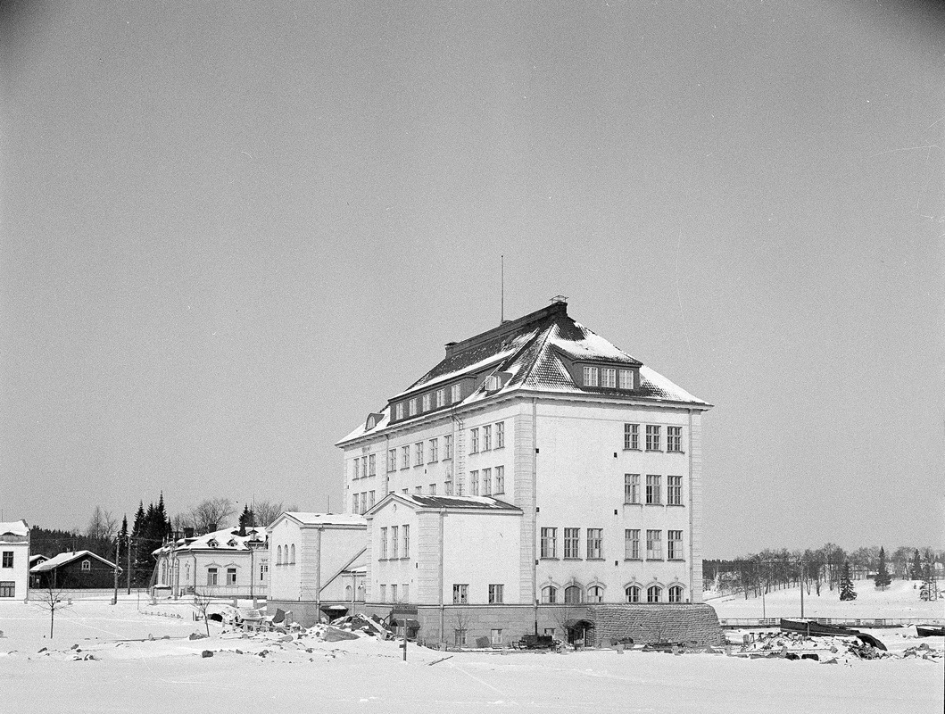 Early 1940's. Sortavala. The School