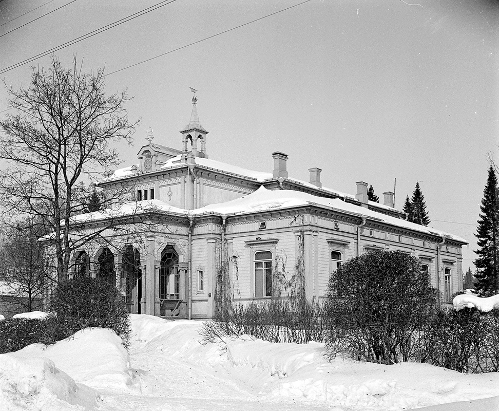 Early 1940's. Sortavala. The Town Hall