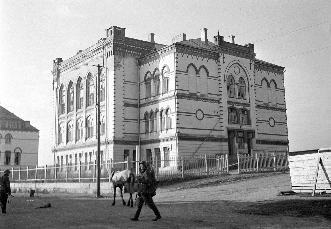 Early 1940's. Sortavala. The Lyceum