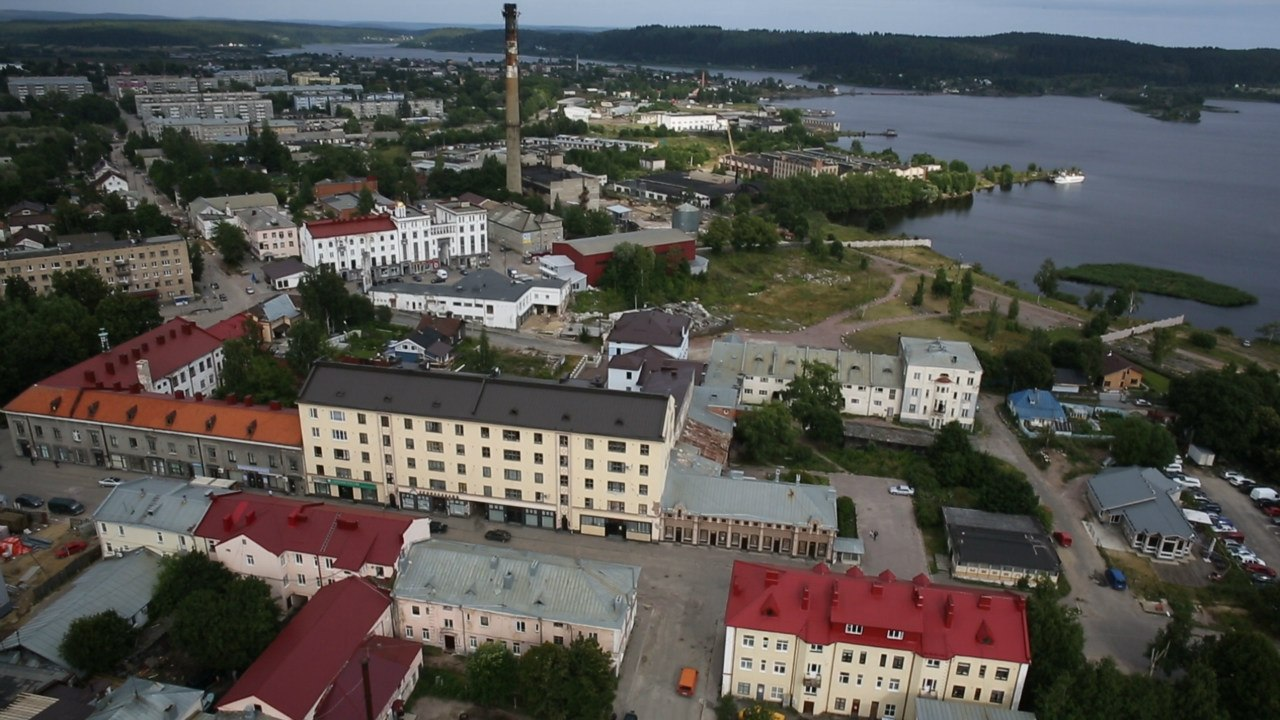2013. Sortavala. Aerial photography