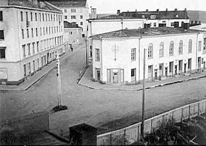 1943. Sortavala. Building of military administration