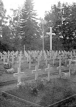 1944. Sortavala. Common Graves
