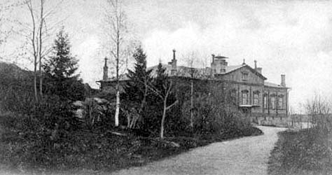 1900's. Sortavala. Building of teacher's exseminary
