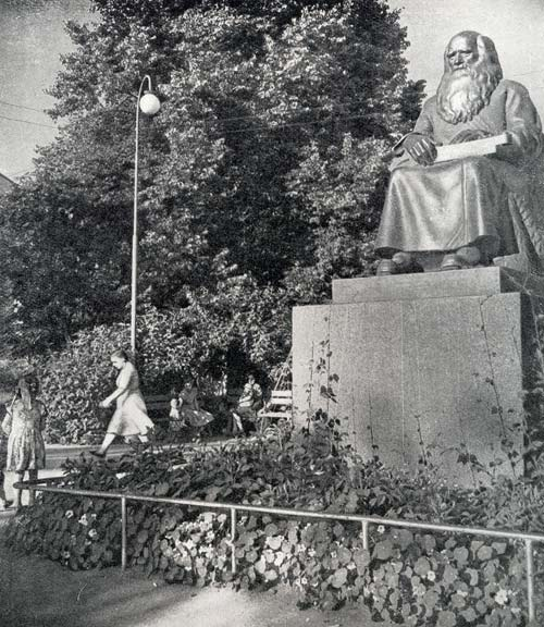 1960's. Sortavala. The Folk-Tale Narrator's Monument