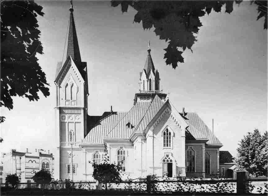 1930's. Sortavala. Lutheran church