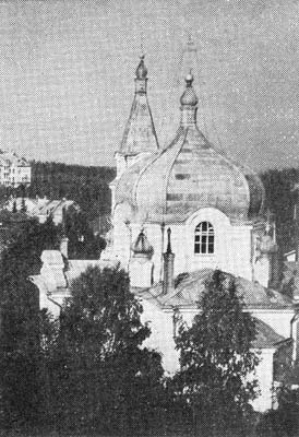 1930's. Sortavala. Orthodox church