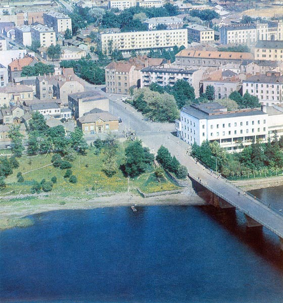 1970's. Sortavala. Centre of the town-2