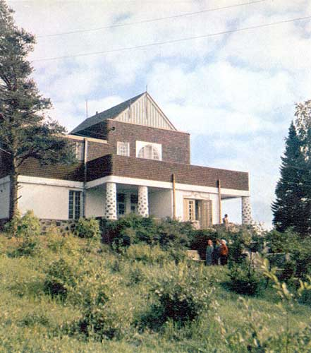 1960's. Forest cottage