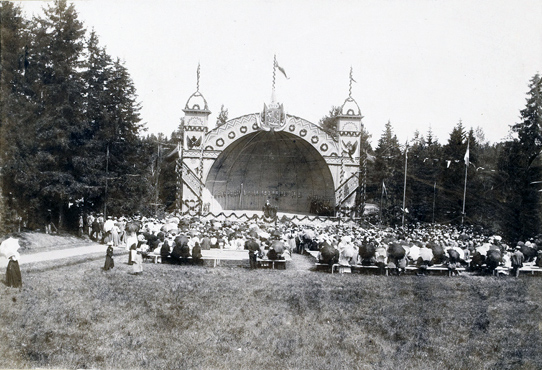 August 16, 1896. Sortavala. The singing festival