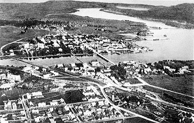 1932. Sortavala. Aerial photography