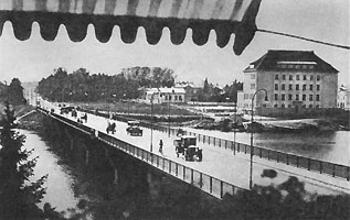 1930's. Sortavala. New bridge