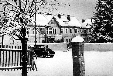1930's. Sortavala. Nurses' community hospital
