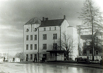 "1950's. Sortavala. ""The New House"""