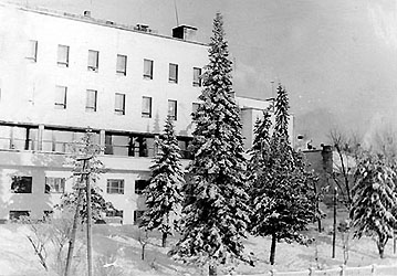 1960's. Sortavala. The Officers' Club