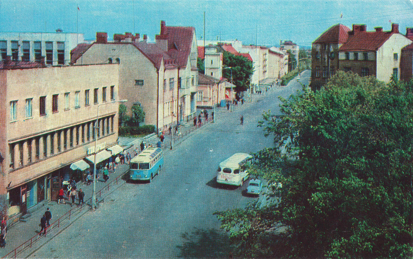 Early 1970's. Sortavala. Karelian street
