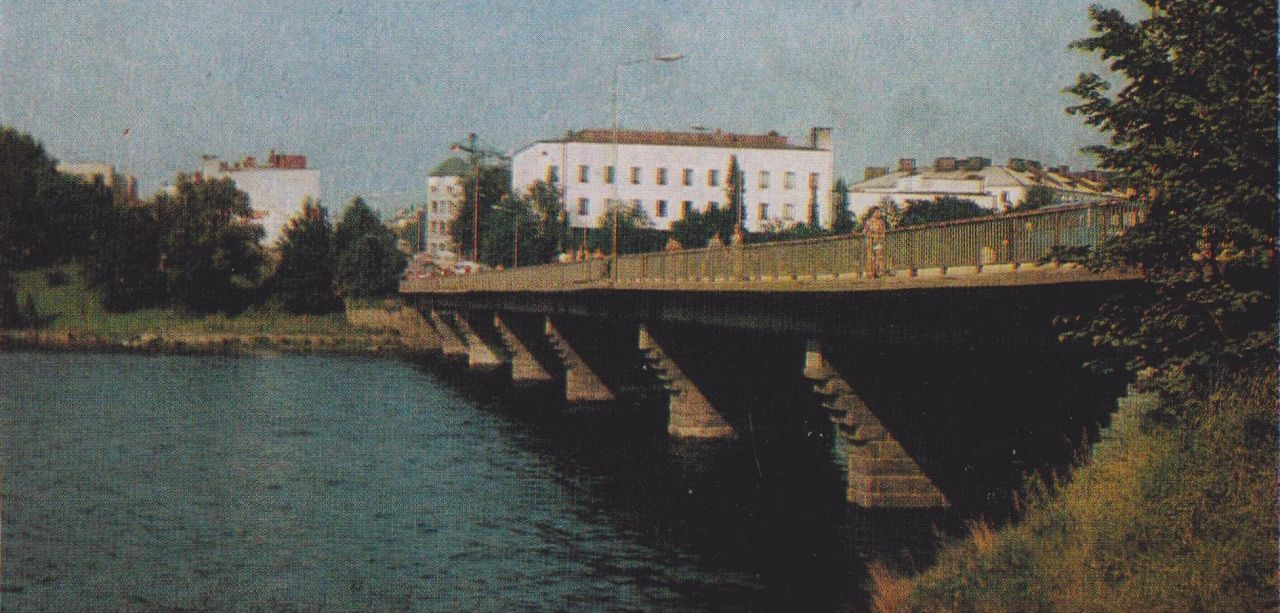 1970's. Sortavala. The Karelian bridge