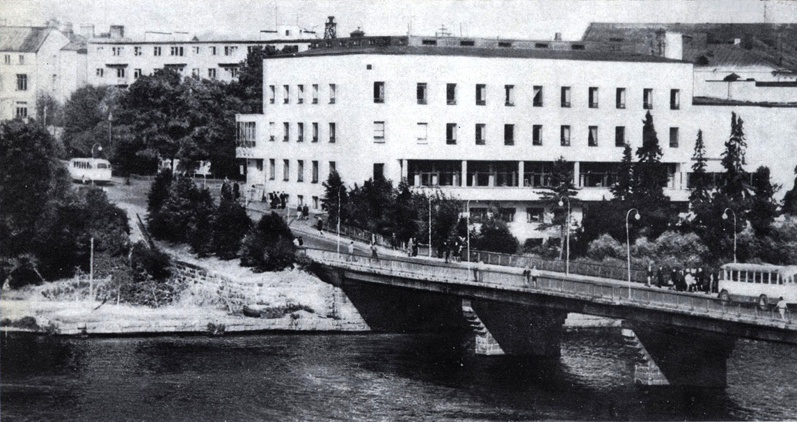 1970's. Sortavala. The Officers' Club