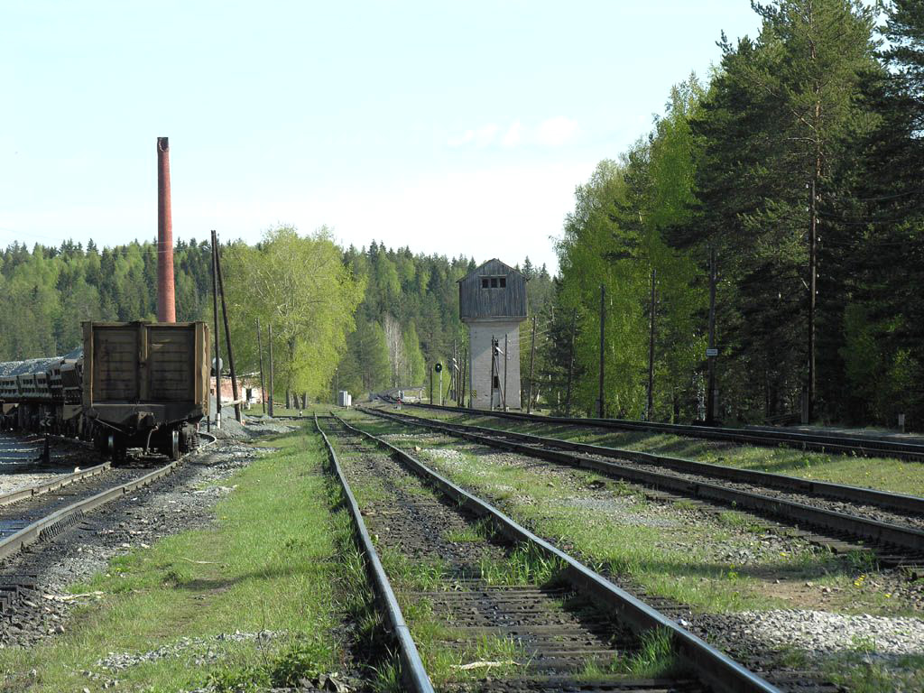 May 23, 2006. Roikonkoski. Railway station