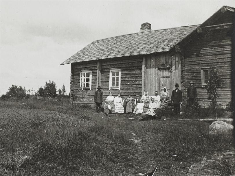 1906 год. Лоймола. Народная школа