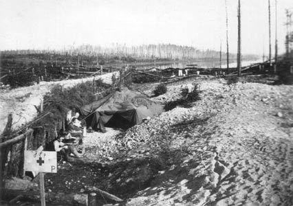 1941. The road through Kollaanjoki battle field
