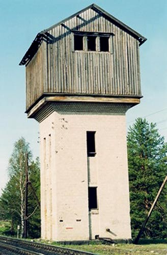 May 12, 2002. Roikonkoski. Water tower
