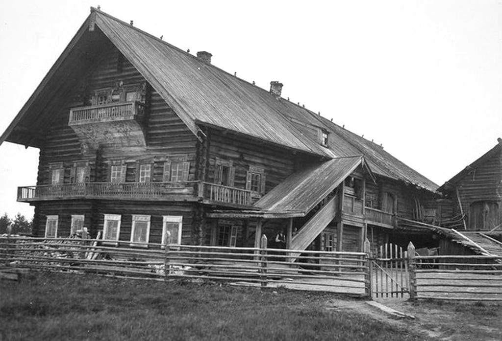 1920. Kuikkaniemi. The Bomba House