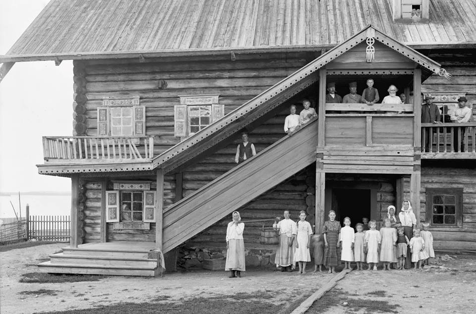 1913. Kuikkaniemi. The Bobma House