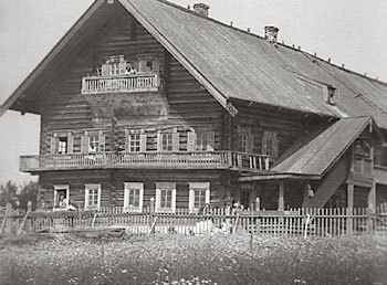 1930's. Kuikkaniemi. The Bomba House