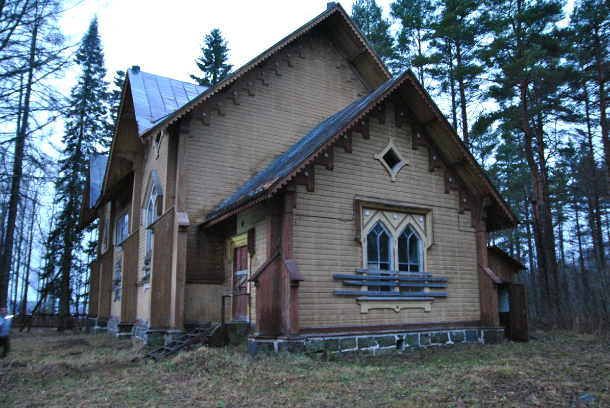 January 1, 2014. Kuikkaniemi. Former Lutheran church