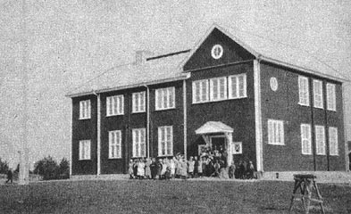 1930's. The Popular School in Hyrsylä