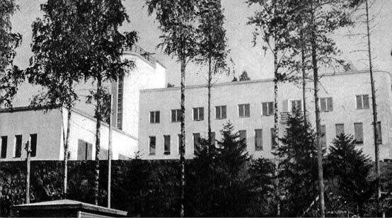 1930's. Building of municipality
