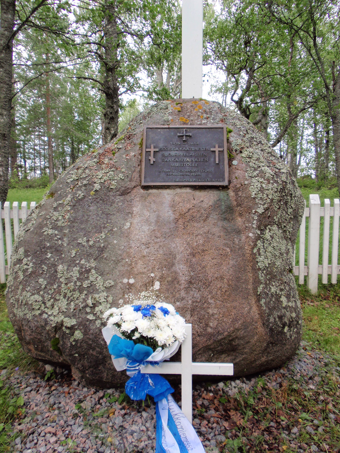 July 9, 2012. Suvilahti. The memorial to Finnish warriors of 1939-1944