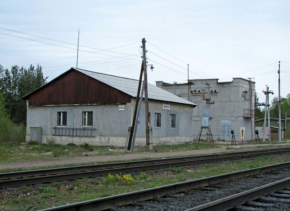 May 23, 2006. Naistenjärvi. Railway station