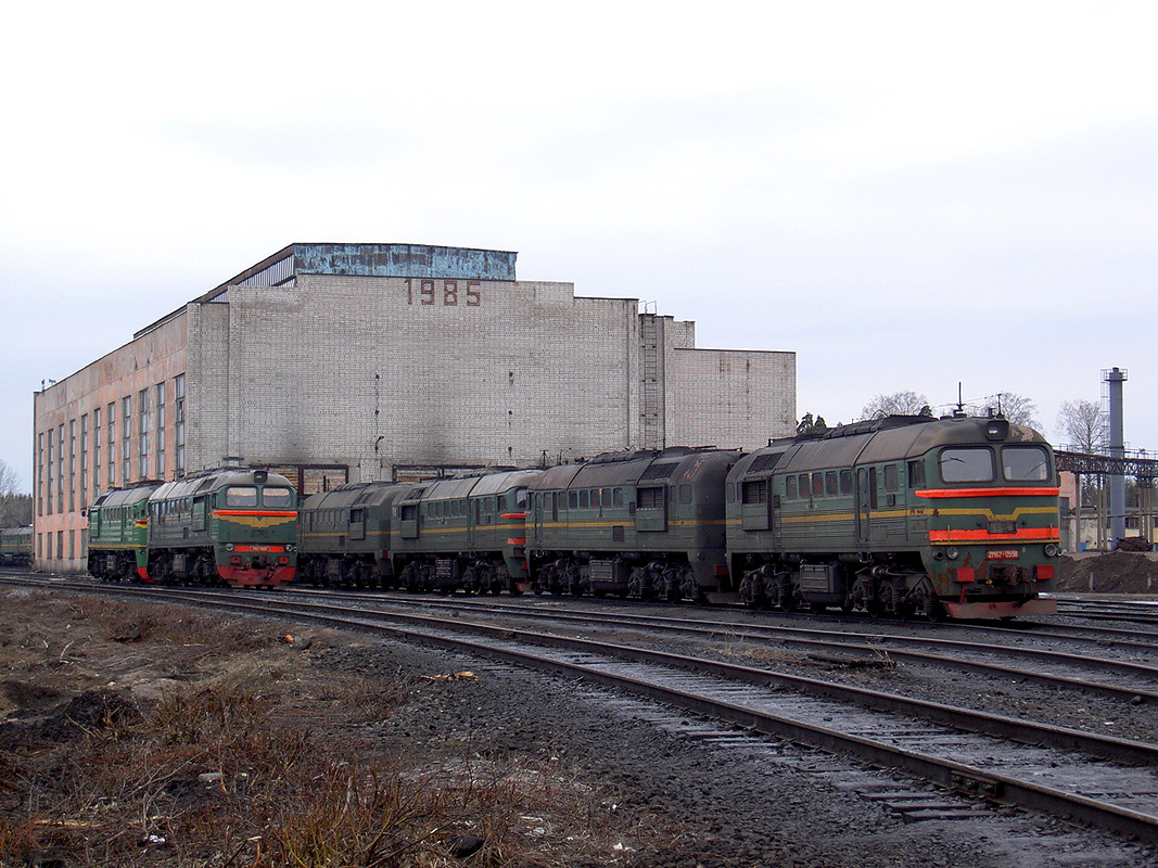 April 17, 2007. Railway depot