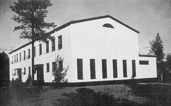 1930's. The Central Popular School in Suvilahti