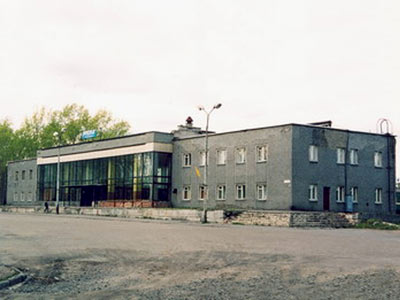 May 11, 2002. Suojärvi. Railway station