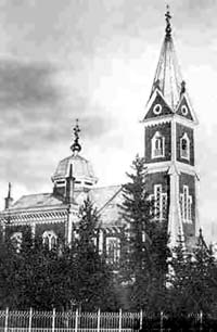1930's. Orthodox church