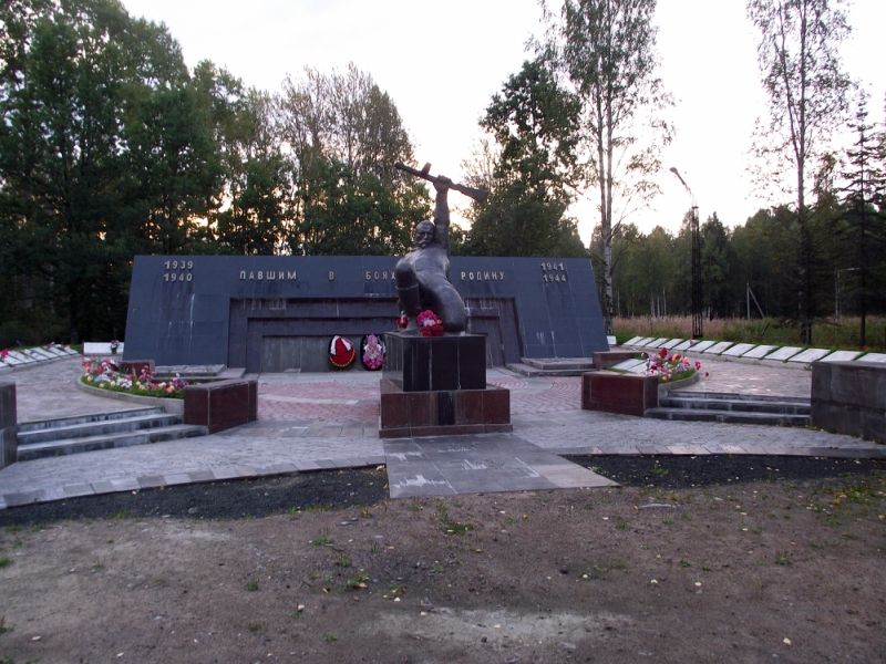 August 29, 2013. Memorial to the Soviet soldiers