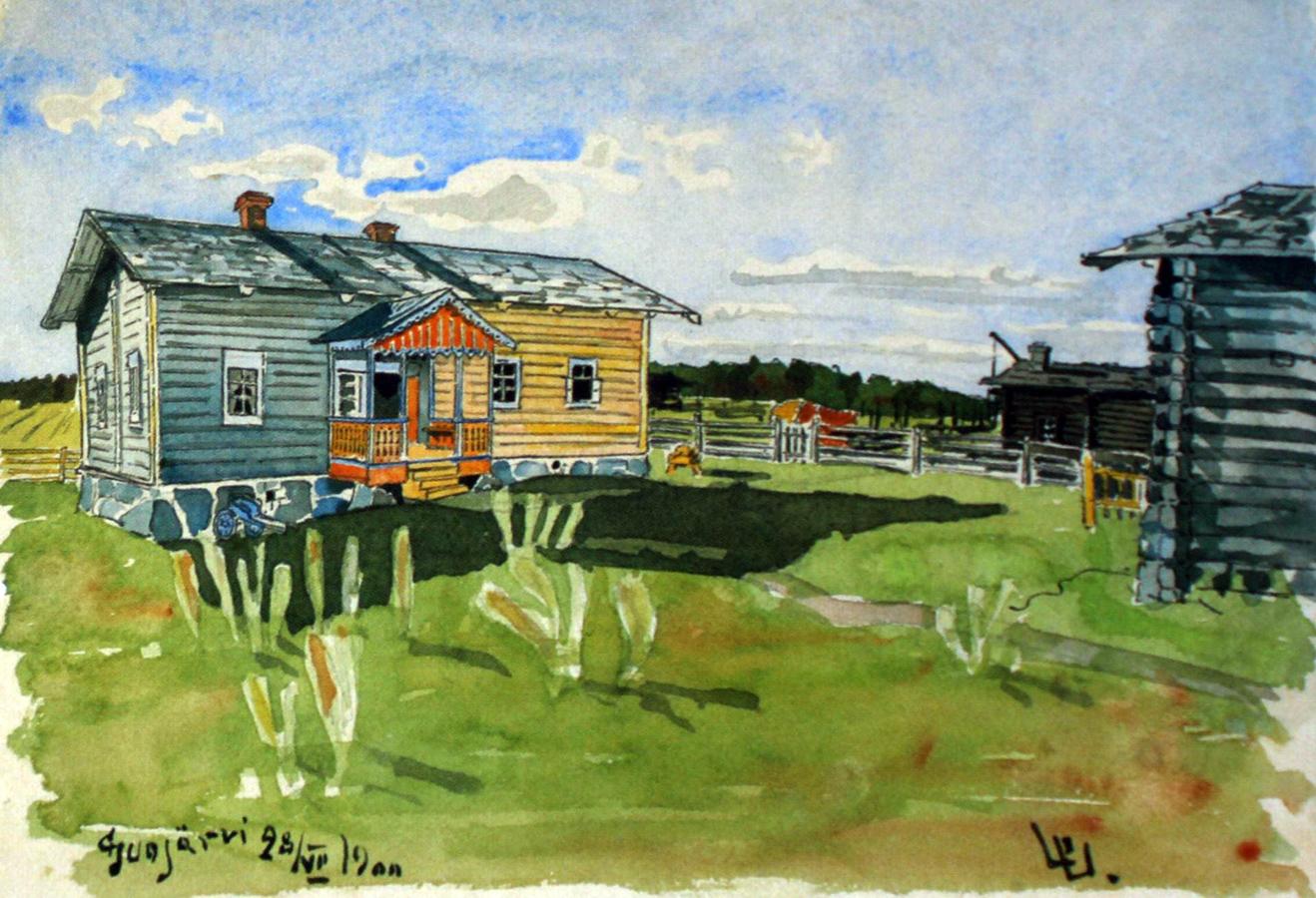 July 28, 1900. Suojärvi