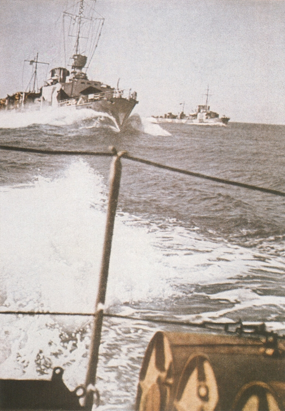 "Early 1940's. Torpedo-boats of ""T 1935"" class"