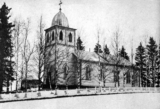 1930's. Lutheran church