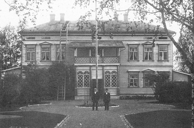 1930's. Official residence of the managing director