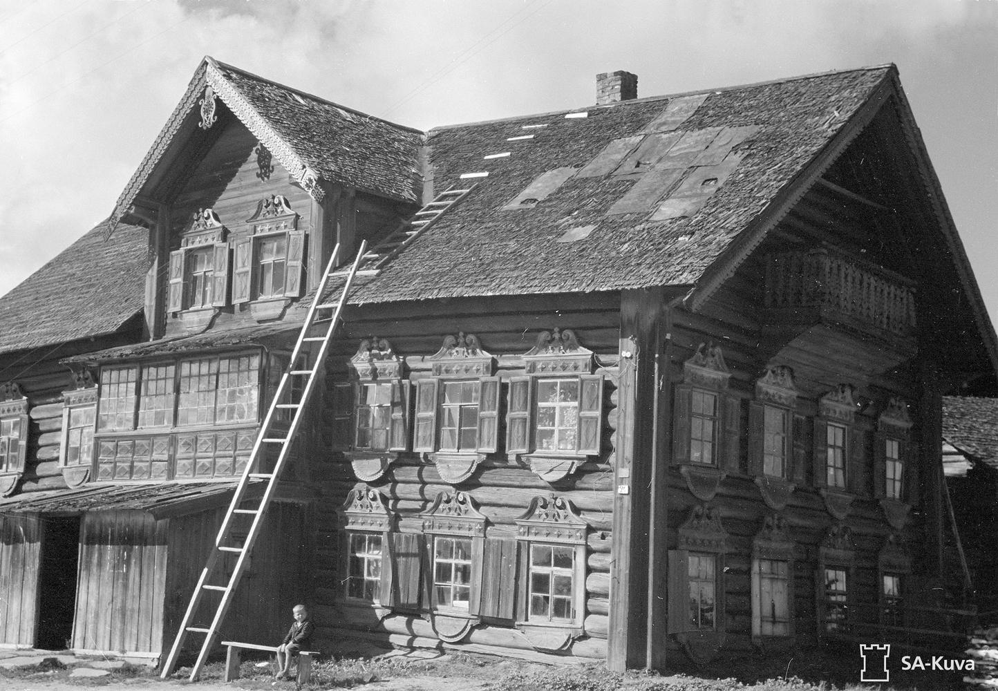 August 1943. Mel'kin house