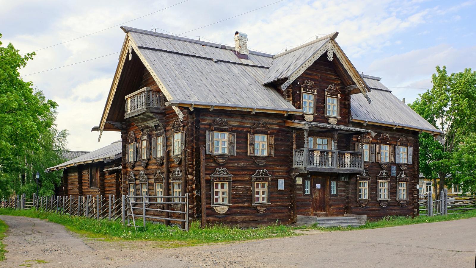 June 2018. Vepsian ethnographic museum