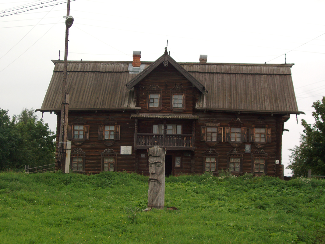 July 21, 2007. Vepsian ethnographic museum