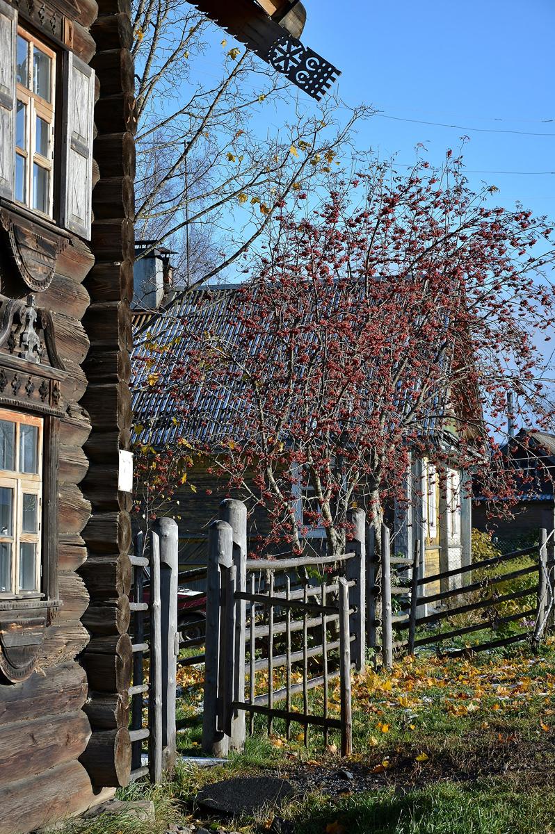 October 2017. Vepsian ethnographic museum