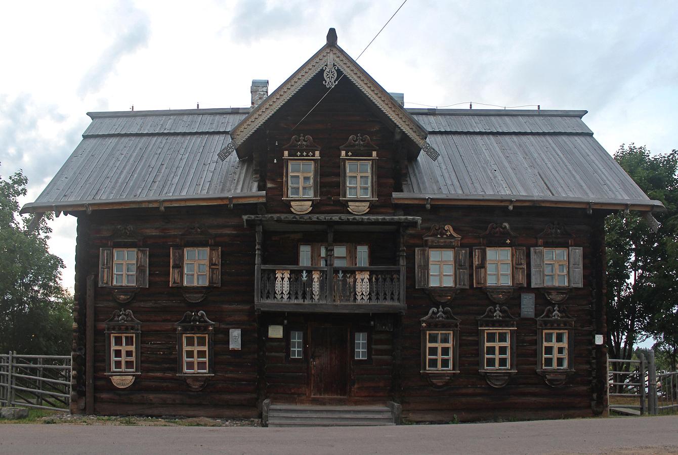 Elokuu 2017. Vepsäläinen etnografinen museo
