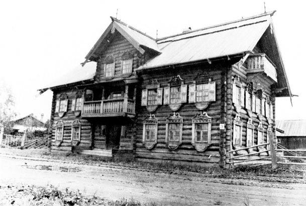 Early 1980's. Mel'kin house