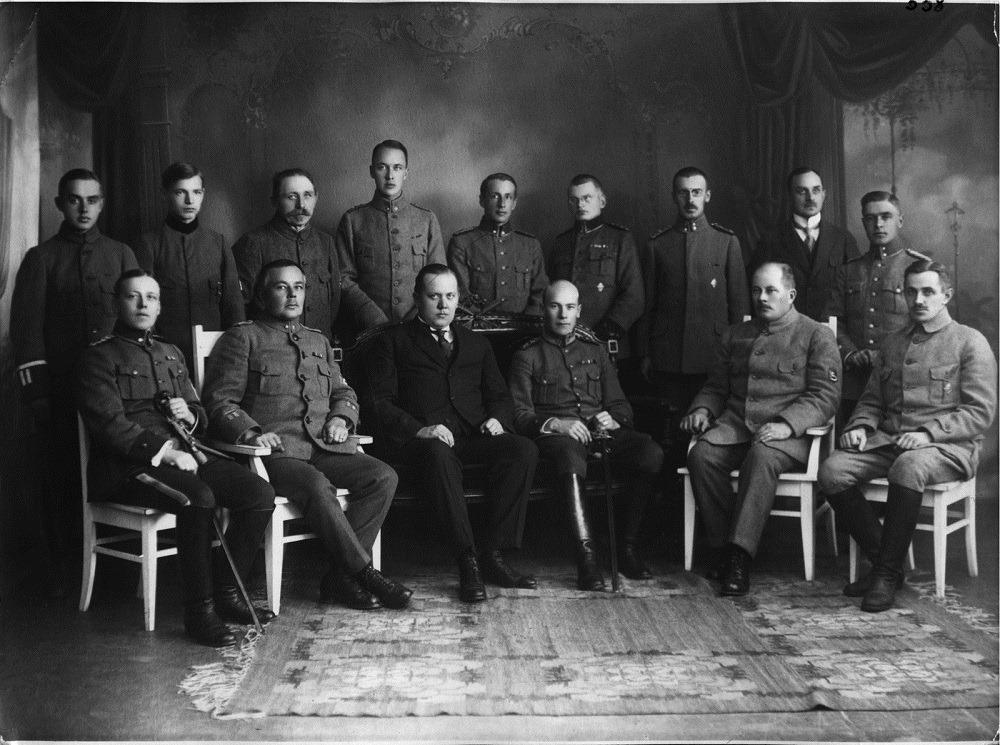 1918. Kuopio Civil Guard's founding members