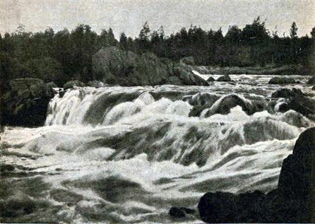 1910-е годы. Подужемский порог